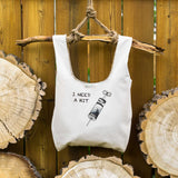 I need a hit ⋆ Organic Cotton Tote Bag
