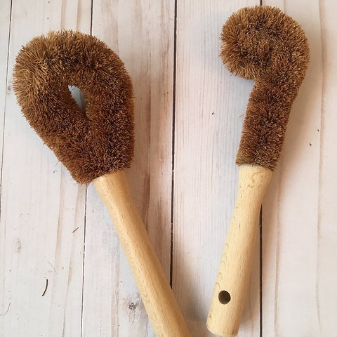 Tampico Bottle Brush and Pan Scrubber