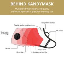 Load image into Gallery viewer, KandyMask Confident 5.0 Face Mask - www.kandymask.com