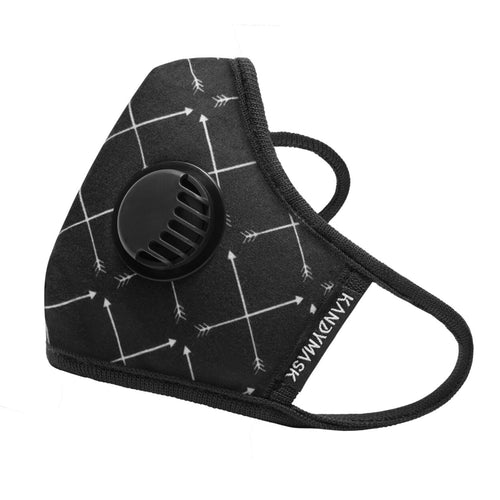 KandyMask Confident 6.0 Pollution Mask - with Valves - www.kandymask.com