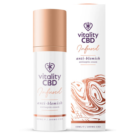Vitality CBD Infused CBD Anti-blemish Cream 50ml 200mg