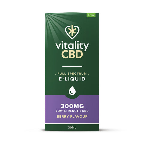 Vitality CBD Full Spectrum E-liquid 30ml