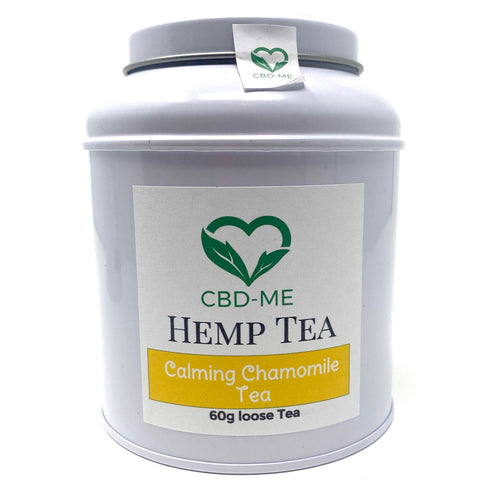 CBD-ME HEMP AND CALMING CHAMOMILE TEA 60G