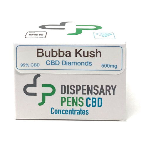 Dispensary Pens CBD Diamonds 500mg - 1000mg