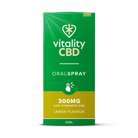 Vitality CBD Oral Spray 30ml