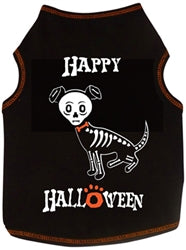 Happy Halloween Skeleton Tank