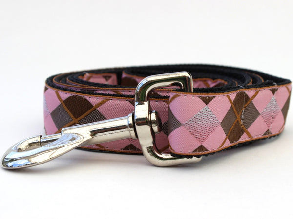 Argyle Dog Leash - UKUSCAdoggie