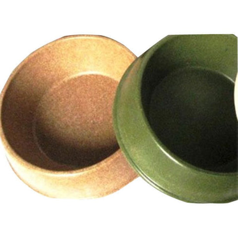 Green Pet Bamboo Dog Bowl