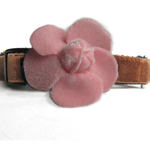 Camellia Dog Collar by Diva-Dog