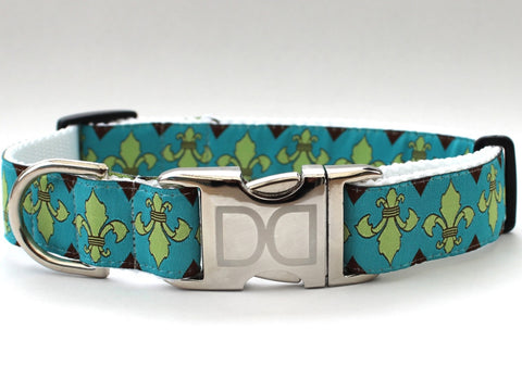Camelot Dog Collar and Leash Set by Diva-Dog