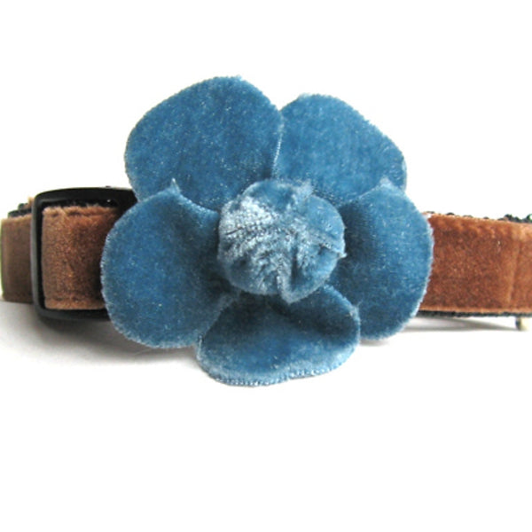 Camellia Dog Collar by Diva-Dog - UKUSCAdoggie
