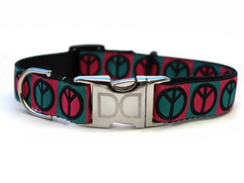 Hippie Hound Dog Collar by Diva-Dog