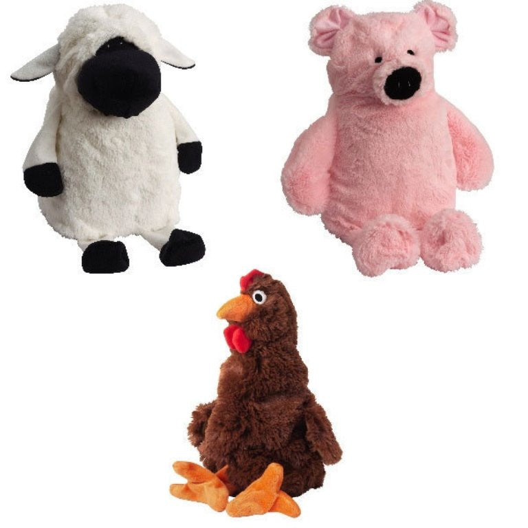Milk Jug Barnyard Dog Toys by Doggles
