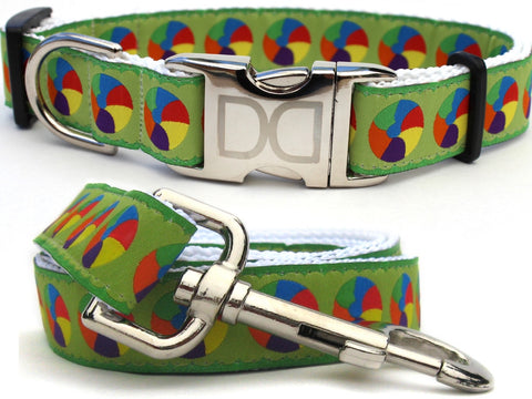 Moondoggie Dog Collar and Leash Set by Diva-Dog