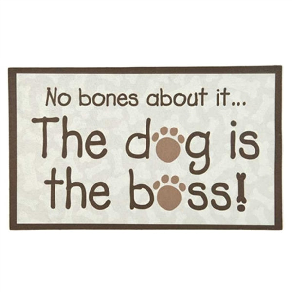 No Bones About It...Decorative Floor Mat