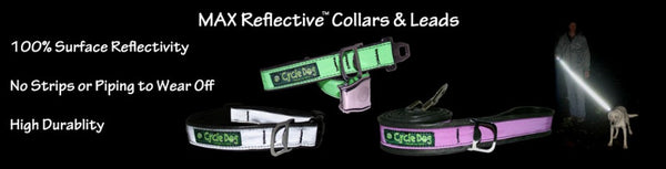 Cycle Dog's Max Reflective™ Latch-Lock Collar - UKUSCAdoggie