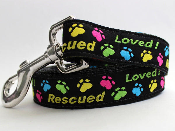 Rescue Me Dog Leash by Diva-Dog