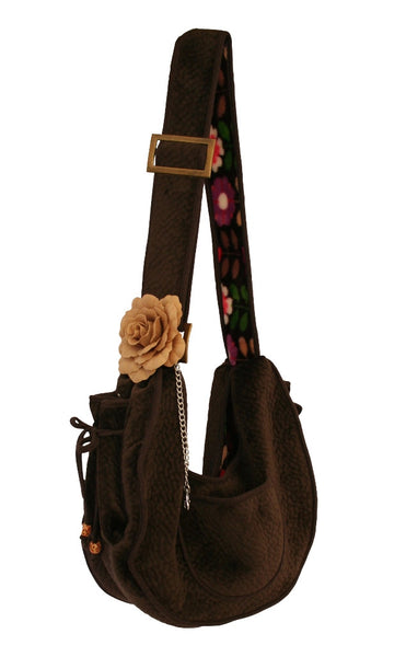 Rich Rhino Puppy Sling Pouch - the stylish way to carry your dog!