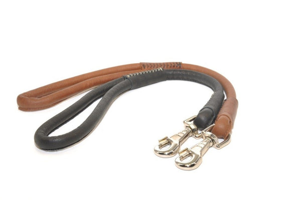 Soft  Leather Traffic Leash by Dogline