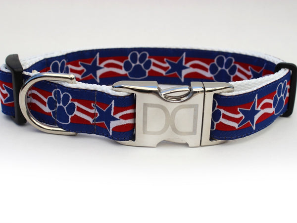 Stars and Paws Dog Collar by Diva-Dog