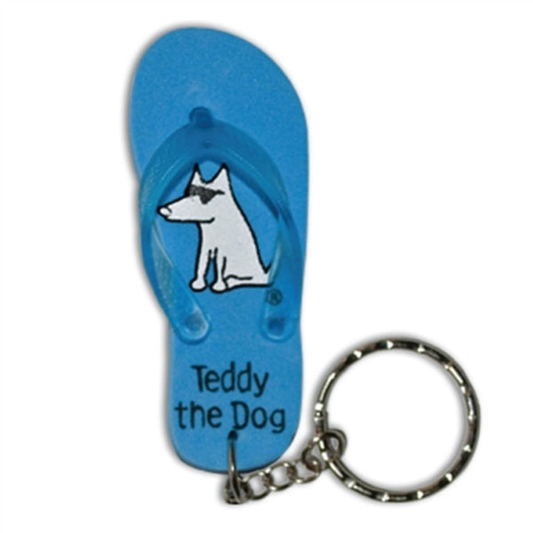 Teddy the Dog Key Chain
