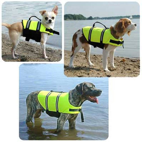 Yellow Dog Life Jacket  by Paws Aboard