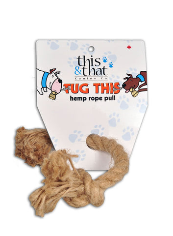 Tug This Hemp Rope Pulls