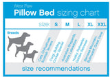 West Paw Design Pillow Bed Size Chart