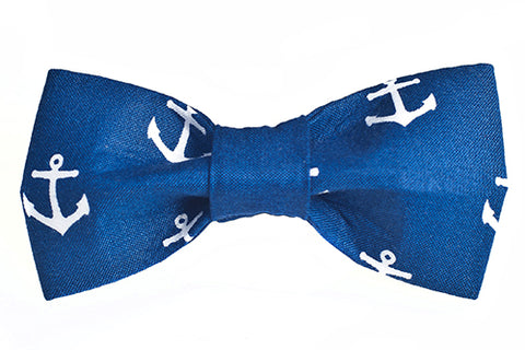 Anchors Away Bow Tie