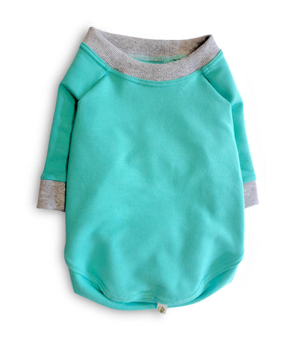 Apple Sweatshirt - Bali Blue