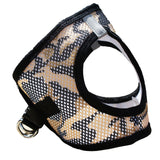brown-camo-american-river-choke-free-dog-harness-side-view