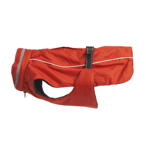 Buster Outdoor Wear Winter Dog Coat - Red Chili