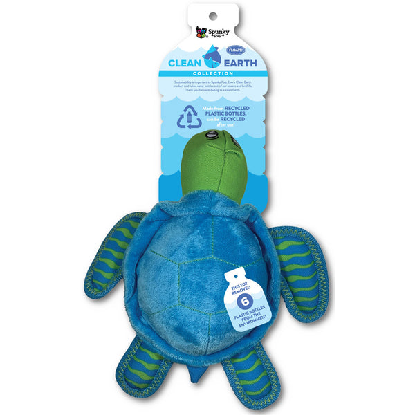 clean-earth-plush-turtle-dog-toy-large