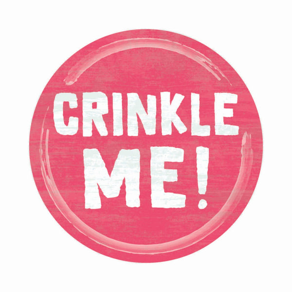 crinkle-me-sign