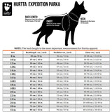 hurtta-expedition-parka-size-chart