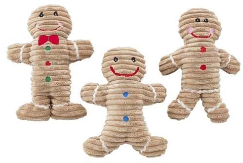 Holiday Gingerbread Dog Toy