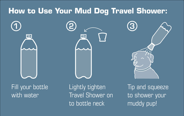 Mud Dog Shower - Grass Green