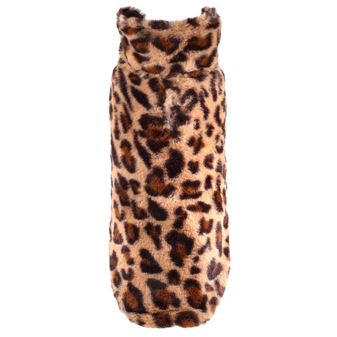 Leopard Fur Coat for Dogs