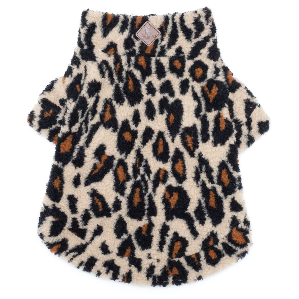 leopard-sherpa-one-quarter-zip-pullover-for-dogs