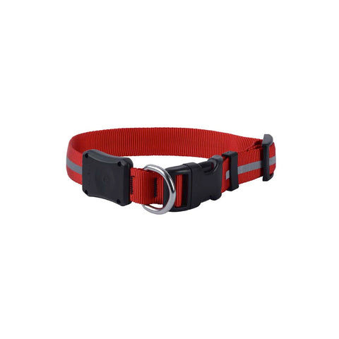 Nite Dawg LED Light-Up Dog Collar - Red