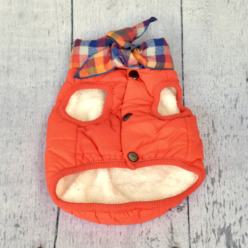orange-baxter-bandana-puffer-jacket-close-up