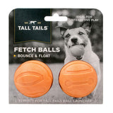Tall Tails® Orange Fetch Balls - 2-Pack