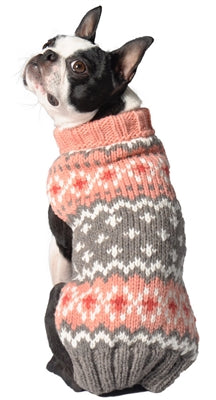peach-fair-isle-dog-sweater