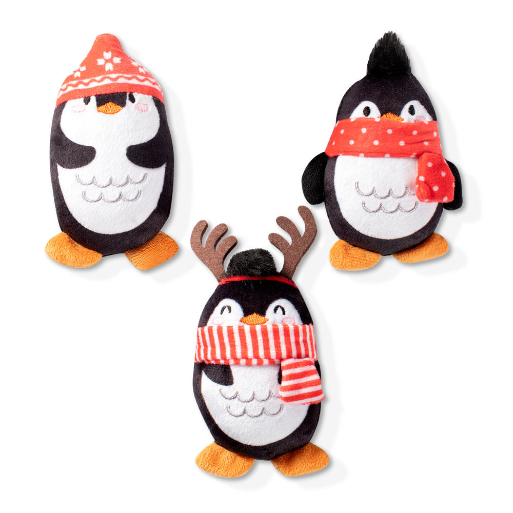 penguin-mini-dog-plush-toy-set
