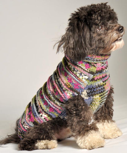 purple-woodstock-cable-knit-dog-sweater