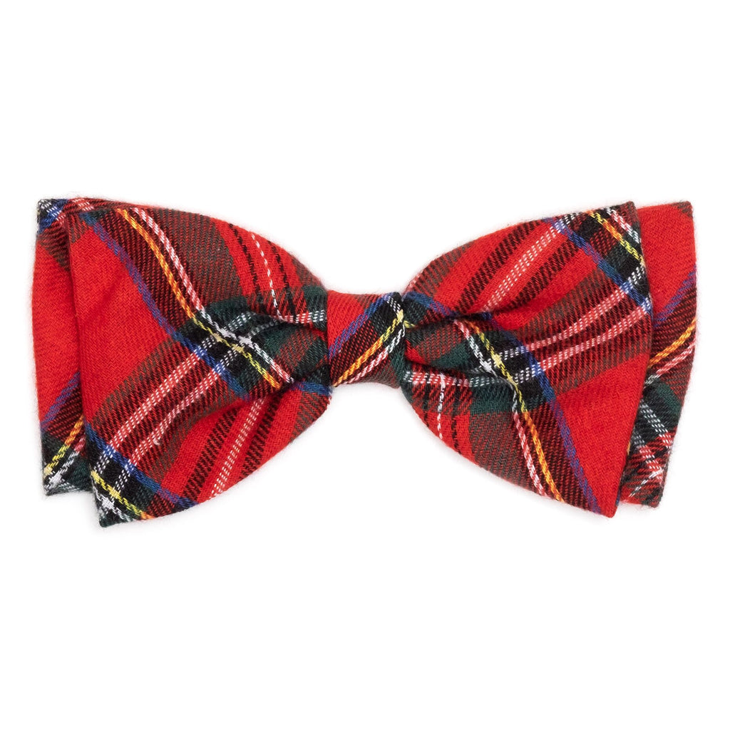 red-plaid-bow-tie
