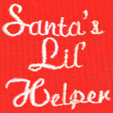 santas-lil-helper-christmas-dog-pajamas-embroidery