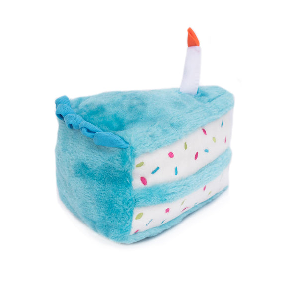 Birthday Cake Slice Dog Toy - UKUSCAdoggie