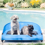 summer-fun-with-the-cool-air-cot-elevated-pet-bed