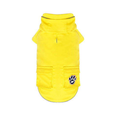 Torrential Tracker Dog Raincoat - Yellow